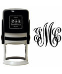 Antique Cipher Personalized Initials Stamp