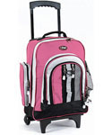 Awestruck Rolling Backpack - Pink