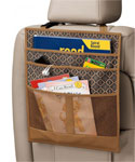 Back Seat Organizer - Brown