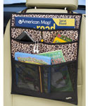 Backseat Auto Organizer Pockets - Leopard