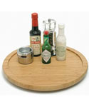 Bamboo 14 Inch Lazy Susan Turntable