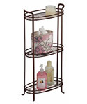 3-Tier Bathroom Shelf - Bronze