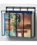 Wall Mount Magazine Rack