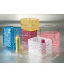 Blumz Flower Plastic Storage Basket
