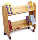 Book and Video Cart