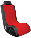 BoomChair Gaming Chair - Black and Red