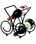 Bordeaux 3-Bottle Wine Rack