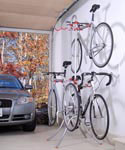 Free Standing Four-Bike Rack