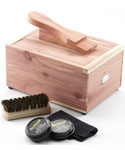 Cedar Shoe Care Valet