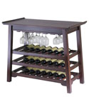 Chinois Wine Rack - Antique Walnut