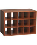 FreedomRail Big O-Box Cubby Unit - Cherry