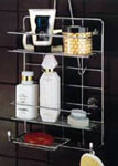 Chrome Shower and Tub Caddy