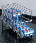 Chrome 12 Can Beverage Dispenser