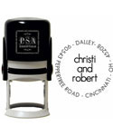 Christi Custom Name and Address Stamp