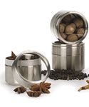 Stackable Stainless Steel Storage Canister