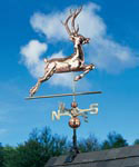 Deer Copper Weathervane