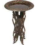 Birdbath and Pedestal - Dragonfly