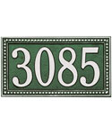 Egg and Dart Address Plaque - Estate One-Line