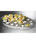 Stainless Steel Iced Deviled Egg Tray