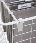 Wire Basket Hanging File Bars