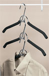 Friction Shirt and Coat Hanger