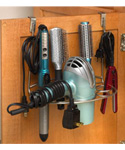 Hair Dryer Holder Multi-Rack Over-the-Door