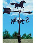 Rooftop Weathervane - Horse