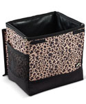 2 Gallon Automobile Floor Litterbag - Leopard
