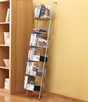 Mesh Bookcase and Media Storage Rack