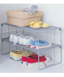 Stackable Shoe Rack - Mesh
