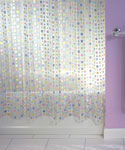Mezzo Vinyl Shower Curtain