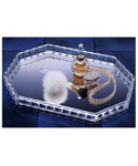 Crystal Clear Vanity Tray Mirror