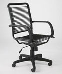 Bungee High Back Office Chair - All Black