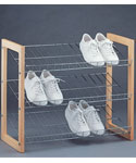 Three-Tier Shoe Shelf