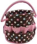 Stuff Bucket Storage Tote - Polka Dot