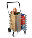 Collapsible Aluminum Shopping Cart