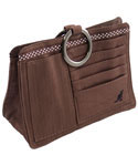 Pouchee Purse Organizer - Brown Cotton