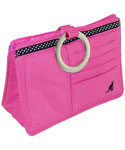 Pouchee Purse Organizer - Pink Cotton