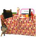 Purseket Small Purse Organizer Insert - Polka Dots