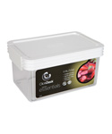 Rectangle Click Clack Canister - 1 Quart
