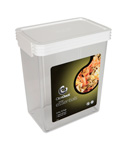 Rectangle Click Clack Canister - 2.5 Quarts