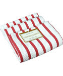 Kitchen Casserole Towel - White and Red