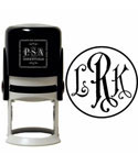 Personalized Stamp - Initials - Antique Roman
