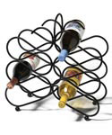 Scroll 12-Bottle Wine Rack