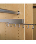 Deluxe Sliding Belt Rack - Chrome