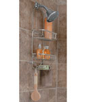 Satin Nickel Shower Caddy