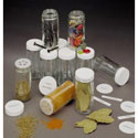 Glass Spice Bottles - 3.5 Ounce