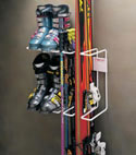 Heavy Duty Double Ski Rack