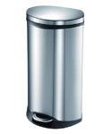 50L Stainless Steel Pedal Trash Can