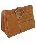 Pouchee Purse Organizer - Tan Leatherette